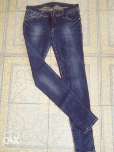 Classix elastin tamni jeans S