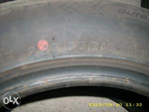 Auto gume Radijalke 225 55 16. F106