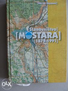 Stanovništvo Mostara 1879-1991 - knjiga