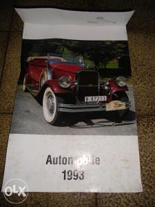 auto kalendar 1993