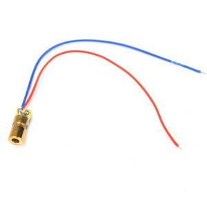 Laser za Arduino 650nm 5mW Red Dot Module