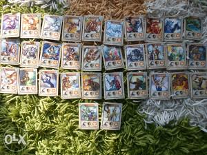 Dragomania svih 32 kartice