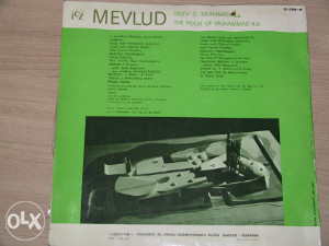 gramofonska ploča  Mevlud spijev o Muhamedu