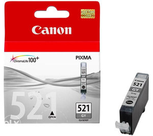 3x Canon 521 GY ketridz