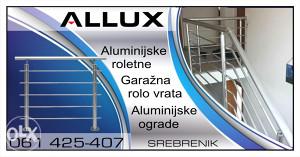 Alu ograde i roletne  garazna vrata   061 425 407