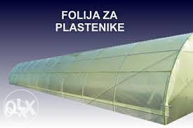 FOLIJA ZA PLASTENIK 10m  SLOVENIJA