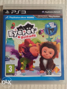 Eyepet  & Friends(PS3 Playstation 3) Move igra