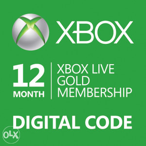 Xbox Live Gold Membership 12 mjeseci