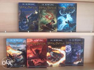 Harry Potter Komplet 1-7