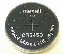 Litijumska Baterija MAXELL CR2450 3v