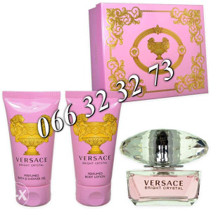 Versace Bright Crystal 50ml + 50ml SG +50ml  BL Ž 50 ml