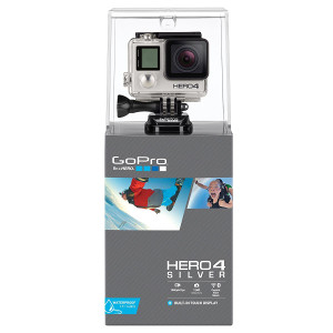 GoPro KAMERA HERO4 SILVER (Hero 4) Go Pro 4K Video