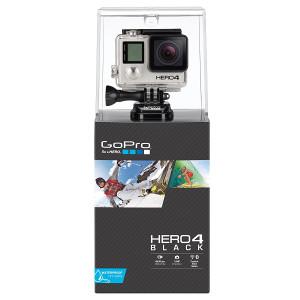 GoPro KAMERA HERO4 BLACK Video 4K UltraHD Go Pro
