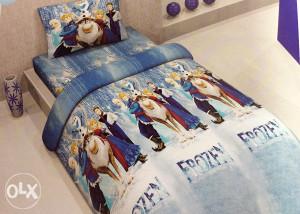AKCIJA NA Set posteljine za djecu, jorgan i jastuk