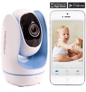 FosBaby P1 Wireless Baby Monitor HD