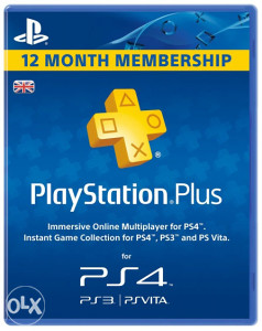 PlayStation Plus (UK) 365 dana PS4/PS3/PS Vita