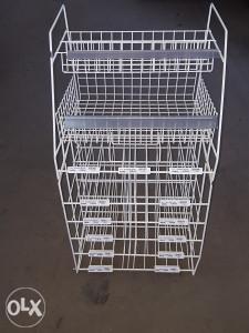 Prodajni pultni stalak / kvadratni