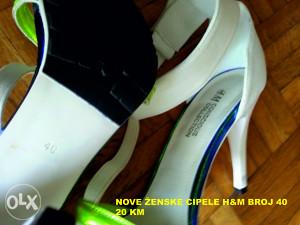 Nova i polovna ženska obuća
