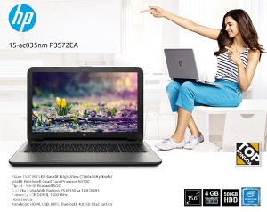 HP 15-ac035nm QUAD !!! Intel 4GB 500 Grafika 1GB !!!