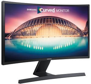 """Monitor SAMSUNG 24"""" LED LS24E510 Zakrivljeni PLS"""