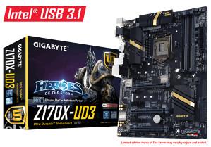 Gigabyte Z170X-UD3 s1151, Tripple SLI + Crossfire