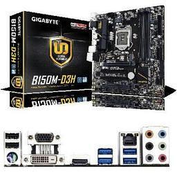Gigabyte B150M-D3H s1151