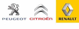 Auto otpad-Servis za Citroen Peugeot Renault vozila
