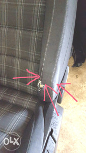 Popravka sjediste-zamjena poderanih dijelova sjedista