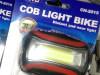Lampa baterija za glavu i bicikl COB LIGHT