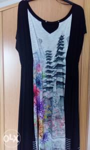 Asimetricna trendy haljina