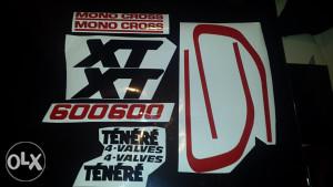 Yamaha xt 600 tenere,naljepnice,stickeri,stikeri...