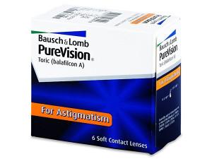 PureVision Toric leće (6 komada sociva) za Astigmatizam