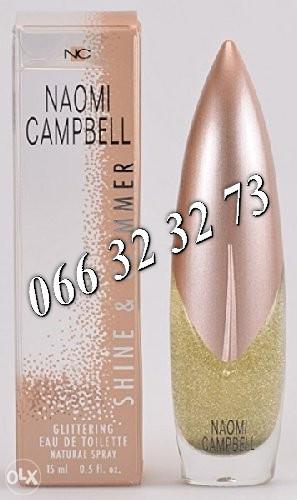 Naomi Campbell Shine & Glimmer Naomi 50ml Tester Ž 50 ml
