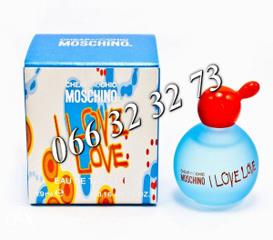 Moschino I Love Love 4,9ml Mini ... Ž 4,9 ml