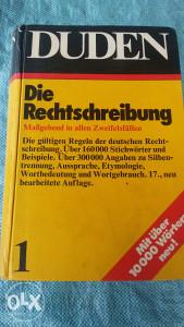 DUDEN / Njemački rječnik
