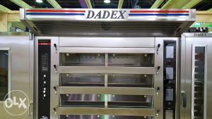 DADEX El. pekarske peći 3,4,5 etaza sa komorom i oprema