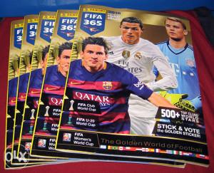 Panini albumi FIFA 365