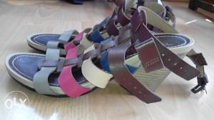 Tamaris vesele kozne sandale