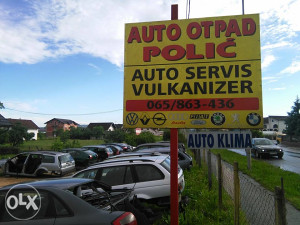 auto servis i otpad polic