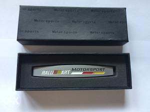 Natpis Znak metalni - R Motorsport - par