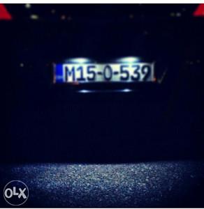 Led sijalice tablice Opel Astra H registracije w5w