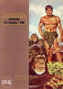 Edgar Rice Burroughs -Tarzan - Serijal / 12 knjiga/ PDF