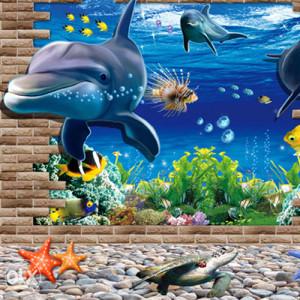 Zidna dekorativna naljepnica za zid - 3D 1