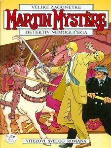 martin mistere br.39 vitezovi svetog romana