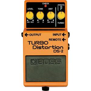 BOSS DS-2 Turbo Distortion pedala