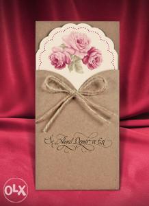 Pozivnice za vjenčanje - pozivnica 2709