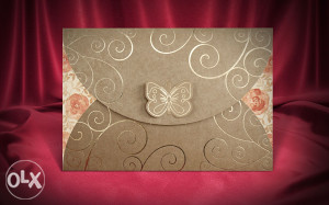 Pozivnice za vjenčanje - pozivnica 2717
