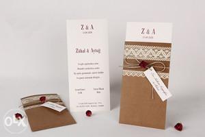 Pozivnice za vjenčanje - pozivnica 70135