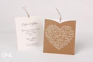 Pozivnice za vjenčanje - pozivnica 70136