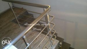 (AKCIJA) Aluminijske ograde - visoki sjaj